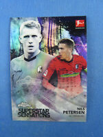 2019 Topps Chrome Bundesliga Nils Petersen SC Freiburg  Superstar Sensations
