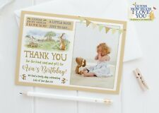 10 Personalised Guess How Much I Love You Thank You Cards Birthday Christening