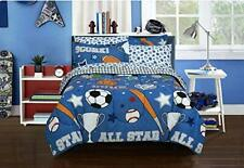 Kidz Mix Game Day Bed in a Bag Full Blue