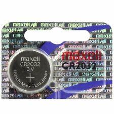 Pile bouton CR2032 MAXELL 3V Lithium, qualité professionnelle