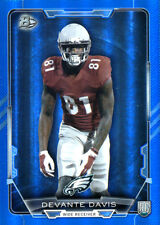 BLUE-RAINBOW  Devante Davis #'D 145/499  RC EAGLES UNLV