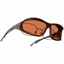 Horizon Wrap Over Glasses (Tortoise) - UV Eye Protection - Copper lens - Size La