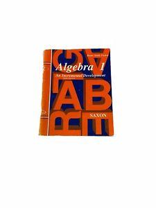 Algebra 1 Home Study Third edition by John Saxon (Revised edition, Reprint)