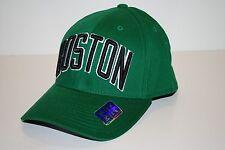 BOSTON CELTICS - ADIDAS STRETCH FIT BASKETBALL CAP/HAT - SM/MED