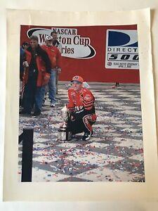 Dale Earnhardt Jr Photograph April 2 2000 Winston Cup Winner NASCAR Budweiser 76