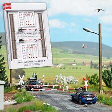 BUSCH 6020 Spur H0, Bahnschranken #NEU in OVP#