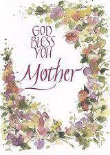"Greeting Card - Mother's Day - ""GOD BLESS YOU MOTHER"" - by The Printery House!"