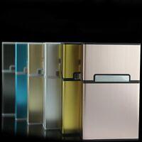 Zigarettendose Zigarettenbox Metall Alu Zigarettenetui Zigarettenschachtel Mode
