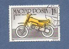 TIMBRE MOTO ★ SPRINTER 50cm3 1984 ★ ( Magyar Posta Hongrie ) Motorcycle Stamp