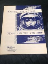 FLASH & THE PAN SHEET MUSIC WAITING FOR A TRAIN GEORGE YOUNG ALBERT PRODUCTIONS
