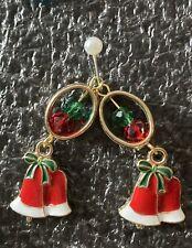 Glocke Weihnachten Ohrringe Wahl der Beschläge siehe zweites Bild