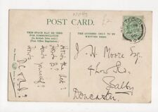 Mr J H Moore Low Road Balby Doncaster 1906 348a