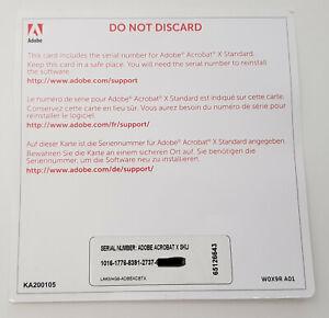 Adobe Acrobat X (10) Standard - Deutsch - Windows - inklusive MwSt