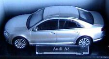 AUDI A8 CARARAMA BERLINE SILVER 1/43 GERMANY GRISE GREY SILBER ARGENTE