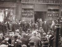 """The New York City Bank"" ...on East Side, 1912-   {Postcard} (V-17)"