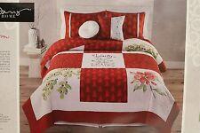 Kathy Davis Home Beauty of the Season Full/Queen 3pc Quilt Set - 2 shams / quilt