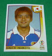 N°542 JUNICHI INAMOTO JAPON PANINI FOOTBALL JAPAN KOREA 2002 COUPE MONDE FIFA