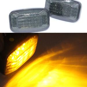 For Toyota Hilux sr5 vigo mk6 pickup Led smoke tinted Side fender Indicator 06+