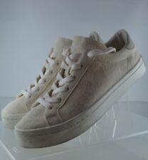 ADIDAS ORIGINALS Court Vantage Cream Suede Leather Sneakers Size 6.5
