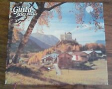 Whitman Guild 500 Piece Vintage Jigsaw Puzzle Tarasp Castle