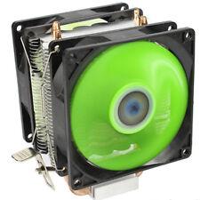 2 Dual Fan CPU Cooler Quiet Heatsink for Intel LGA775/1156/1155 AMD AM2/AM2+/AM3