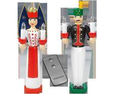 Engel und Bergmann Weihnachtsengel elektrisch 28 cm Holz gedrechselt handbemalt