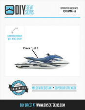 Yamaha GP 800 1200 1300 R BLUE Seat Skin Cover 2000 2001 02 03 04 05 06 07 2008