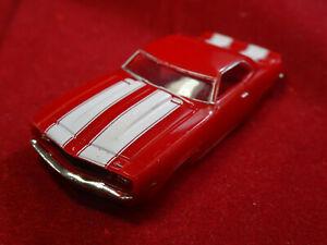 1969 Red Z28 Camaro MoDEL MoToRING T-jet HO Scale Slot Car Body Aurora RRR