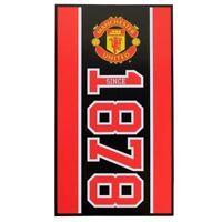 EXTRA LARGE Manchester United Utd Football Club Beach Bath Towel Boys Kids Gift