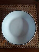 Kahla Porzellan Suppenteller mit Goldrand 22 cm