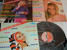 3 LP vinyl HIT PARADE CHANTE pop hits VOLUME 7-11-24