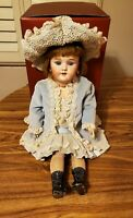 """Beautiful Antique Heinrich Handwerk -19"""" German Bisque Doll w/ball jointed body"""