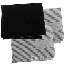 Cooker Hood Filters Kit for HOTPOINT Extractor Fan Vent Grease Carbon Filter