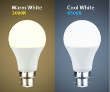 New 15W LED BC B22 GLS Light Bulb Energy Saving Lamp Cool white Warm White