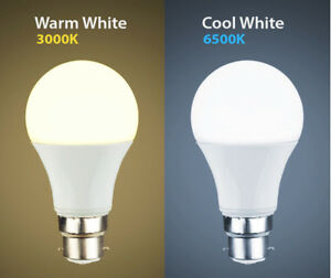 New 12W 15W LED BC B22 GLS Light Bulb Energy Saving Lamp Cool white Warm White