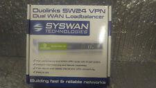 New SyswanTechnologies Sw24 Vpn Duolinks Sw24 Vpn Router Dual Wan