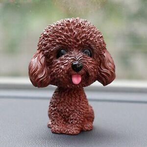Car Dashboard Decor Nodding Puppy Toys Shaking Head Dog Ornaments Bobblehead