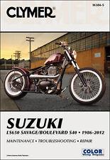 NEW CLYMER MANUAL SUZUKI LS650 SAVAGE/BOULEVARD S40 M384-5 274228 CLYMER