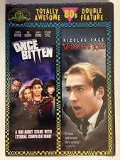 Once Bitten/Vampires Kiss (DVD, 2007, 2-Disc Set) Classic 80s (NEW/SEALED)