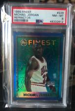 Michael Jordan 1995 Topps Finest Refractor #229 PSA 8 (BGS, SCG) Pop 15 HOF