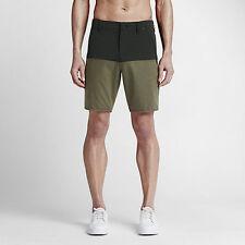 """NWT Hurley Dri Fit Driver 18.5"""" Slim Fit Shorts Sz 34 (MWS0003900 3KE RETAIL $65"""