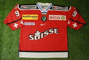 SWITZERLAND TEAM # 99 ICE HOCKEY SHIRT JERSEY OCHSNER X NIKE ORIGINAL SIZE XL