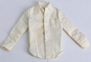 Vintage Barbie Ken Doll - White Dress Shirt Black Label Mattel
