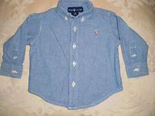 Ralph Lauren Boys' 100% Cotton Tops & T-Shirts (Newborn-5T)