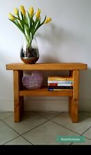 Bedside Table/Side Tables/Telephone Table/Farm Bench/Handmade Solid Pine wood