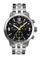 Tissot PRC 200 Chronograph Men's Watch - Stainless Steel/Black