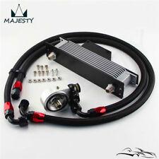 For 01-05 Subaru Impreza WRX/STi AN10 10 Row Bolt On Silver Oil Cooler Kit