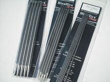 "HiyaHiya 5.0mm x 15cm (6"") Sharp Steel Double Point Knitting Needles"