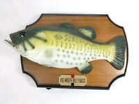 Vintage Original 1999 Gemmy Big Mouth Billy Bass Singing Fish, Motion activated