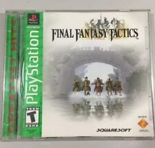 Final Fantasy Tactics 1998 Playstation 1 Game With Original Case
